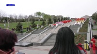 贺阳泉建市70周年--千人旗袍秀表演