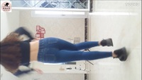 【炫舞世家】新模yoyo美女蓝色紧身牛仔裤热舞 孝琳 (李彩琳) - Hello Bitches免费首发