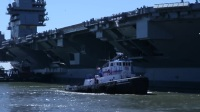U.S Modern Super Aircraft Carrier Gerald R. Ford (CVN 78) Begin Sea Trial.mp4