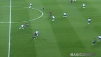 【滚球世界足球频道】当梅西想过人,就能过任何人--1过3,或者1过11!