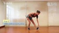 赶走萝卜瘦小腿 女生总是觉得跑步完小腿会变粗,怎麽办?这组动作能有效预防小腿肌肉块的形成,不管是跑步或者逛街后,都可以练习,预防小粗腿噢~名模分享