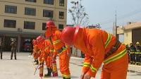 广西罗城举行首届重点单位及社区微型消防站业务比武活动