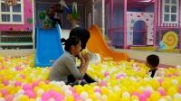 海洋球视频教程 宝宝玩海洋球视频