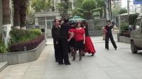 天天开心交谊舞娱乐队参加兴业银行安愉杯中老年广场舞演出