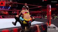 WWE2017【RAW 0320】人肉推土机奈亚用一个萨摩亚摔