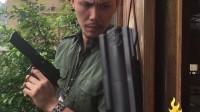 《辣.警察故事系列》頂樓槍戰