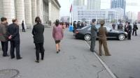 """朝鲜平壤""""太阳节""""街头偷拍(致北京-Richard和胖叔)2017年 4月15日"""