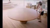 十种让人脑洞大开的折叠桌子。