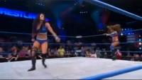 裁判不要掺和的好,TNA女子大战,裁判恶意数秒