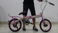 折叠自行车折叠视频