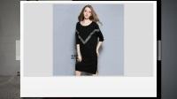 欧美系列2017夏装新款连衣裙 格蕾斯品牌折扣女装批发