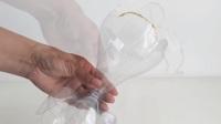 怎么做一个好看的花瓶(变废为宝) DIY 教程#13