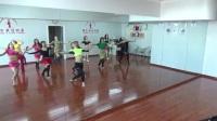 新疆安狄丝东方舞馆潘安老师高级精修班舞码课堂训练《苹果派对》Shaabi风格片段一