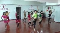 新疆安狄丝东方舞馆潘安老师高级精修班舞码课堂训练《苹果派对》Shaabi风格片段二
