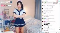 韩国美女主播短裙美腿兔子舞 161213