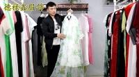 [波尔羊]真丝桑蚕丝大码连衣裙17夏品牌折扣女装走份凯撒贝雷翥汇聚名品-北京惠品