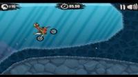 紫宇娱乐解说:4399摩托体育小游戏《狂野飙客2》通关视频02期速度平衡控制好