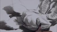 美术速写-庆元旦绘画作品-绘画速成班