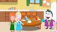 艾莎公主宝宝玩奇趣蛋玩具 搞笑蜘蛛侠宝宝玩过家家汽车小游戏8.