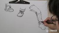 美术简单人物速写图片和素描画苹果