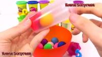 DIY玩Doh冰淇淋冰棒与模具乐趣和创意为孩子西瓜彩虹烹饪