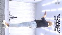 【魅舞坊 安妮】舞蹈UP DOWN 牛仔� 背面 �M版 上下 上和下 制服�T惑�z�m皮�健美�打底��n舞性感�嵛�