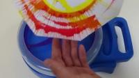 旋转玩具DIY取笑艺术项目油漆飞溅!
