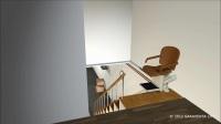 柯凡特GARAVENTA无障碍直线座椅电梯楼道电梯老人电梯别墅电梯楼梯升降座椅