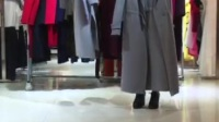 奇美服饰品牌折扣尾货-【比雨竹】双面羊绒大衣