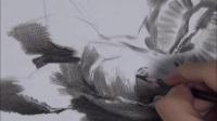素描线条_风景油画教程视频