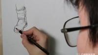 结构素描教程_夏克梁建筑风景钢笔速写_人