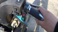 南京电摩酷车大功率电动车战速鬼火三代(非二代)144伏全顺电机电镀壳介绍