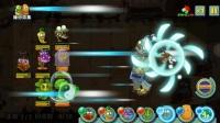 """植物大战僵尸2 网上的""""双头""""上帝金鱼草 vs ZOMBOSS FIGHT!"""