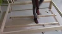 KHL创意家居实木床安装视频