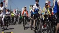 """""""美利达杯""""国际自行车赛在洛宁县少年活动中心广场隆重开幕!"""