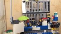 乐高整套警察总局