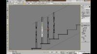 3DMAX室内设计建模教程之欧式旋转楼梯建模1细节处理材质