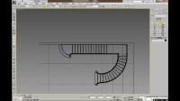 3DMAX室内设计建模教程之欧式旋转楼梯建模细节处理基础篇