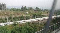 动车飙车:渝万高铁vs渝利铁路,速度与激情(时速200)