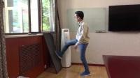 布雷尔利超级金刚网纱窗现场测试展示视频