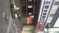 石狮市华林酒店对面农业银行门囗的烧烤摊