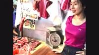 高颜值美女为帮父母卖猪肉放弃银行工作,被称