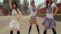 【宅男最爱】三黑丝短裙初中女生可爱舞蹈_标清