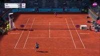 WTA马德里站首轮HL:土居美咲VS凯斯
