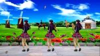 龙海雅雅广场舞 恰恰舞《马背上的萨日朗》编舞一莲