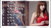 韩国歌曲  홍진영 히트곡 (8곡 연속듣기)