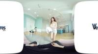 VR视频 360°全景视频,漂亮韩国美女做你的私人秘书