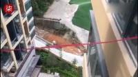 阳台未装玻璃 父母看房时2岁女童坠亡