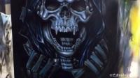 艺途Airbrush学院——无美术基础学员练习进行中[奋斗]招生热线:021-67663180/13564727080网址:www.cnyitu.cn