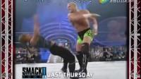 WWE早期精彩男女混战,男打女也毫不留情!